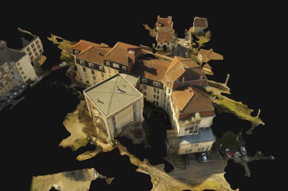 modélisation 3d par drone (photogrammétrie) vers DIJON (21)