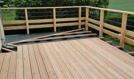 étanchéité EPDM et terrasse bois secteur DIJON