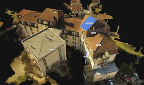 Mesure de toiture par drone vers DIJON (21)