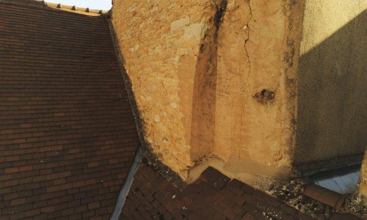 inspection des souches de cheminées par drone à Dijon