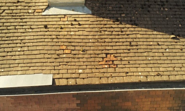 accès en toiture difficile? Solution drone avec sérénitoit