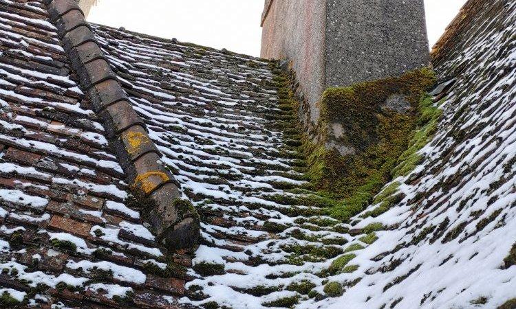 Analyse de toiture sur un château vers AUTUN